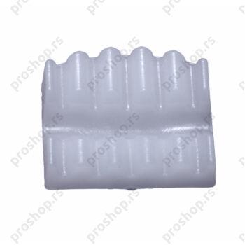 Plastični stezni umetak za držač panela, za mrežu (6 mm)
