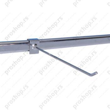 Jednostruka kuka za ovalnu cev,400mm