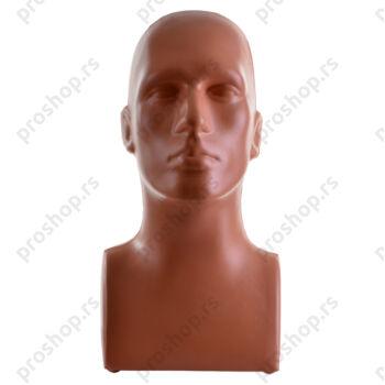 Probna glava sa ramenima, muška