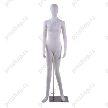 Fleksibilna ženska izložbena lutka, bela