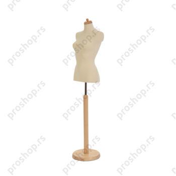 Krojačka lutka 1/2 tela, ženska, na okrugloj stopi, VIŠE BOJA