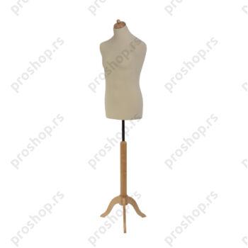 Krojačka lutka, MUŠKA, 50, na drvenom tronošcu, VIŠE BOJA