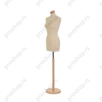 Krojačka lutka, ŽENSKA, 36, na okrugloj drvenoj stopi, VIŠE BOJA