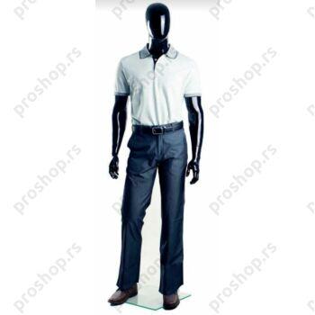 MGM-02 kompletna muška izložbena lutka sa apstraktnom glavom, crna