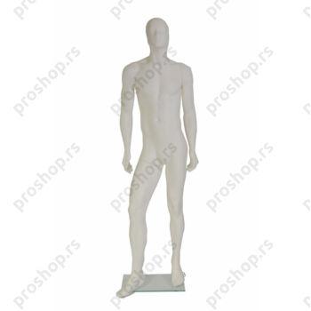 GIL kompletna izložbena lutka, MUŠKA, stilizovana glava, VIŠE BOJA