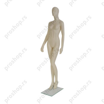 GISELLE kompletna izložbena lutka, ŽENSKA, stilizovana glava, VIŠE BOJA