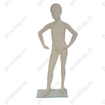 LEO kompletna lutka, vajana kosa, DEČAK, 7 godina