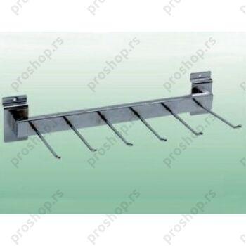 Držač za kaiševe, sa 6 nosača, 400 mm, HROMIRAN
