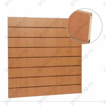 MDF panel sa ALU šinama na razmaku od 10 cm, VIŠE DEZENA