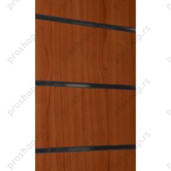 MDF panel sa ALU šinama na razmaku od 10 cm, 120x240, TREŠNJA