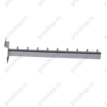 Ravni nosač za vešalice, 350 mm