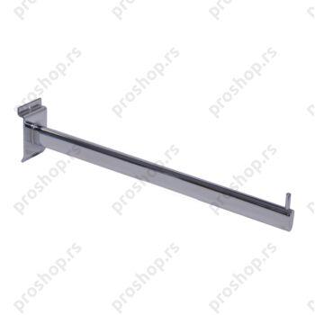 Ravni nosač za vešalice, L=400 mm