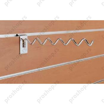 Savijeni nosač za vešalice, 300 mm